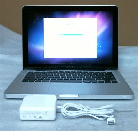 Laptop Apple 2 Duo apple macbook pro 13 3 quot laptop intel 2 duo 2 26ghz 2gb 160gb mb990ll a ebay