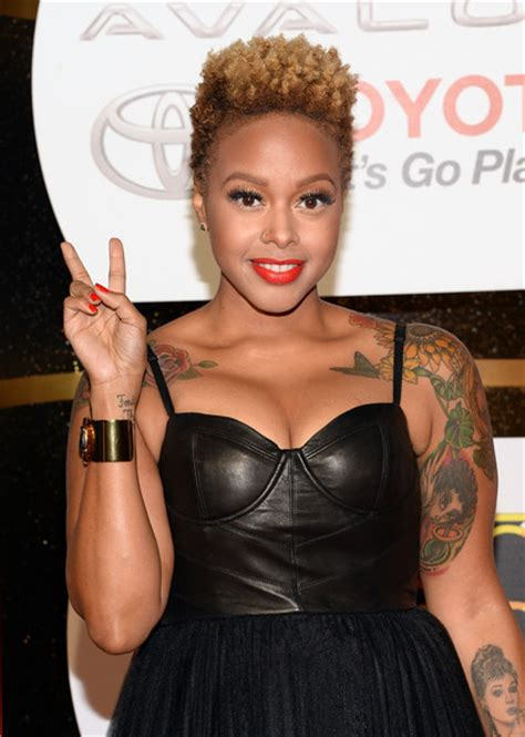 chrisette michele tattoos chrisette michele pictures arrivals at the soul