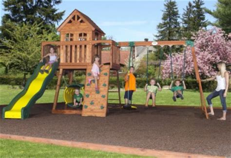 swing sets under 200 backyard discovery cedar view wooden swing set playset
