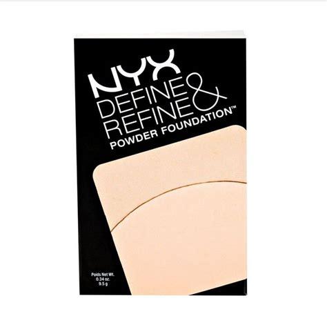 Nyx Define Refine Powder Foundation via trading nyx define refine powder foundation