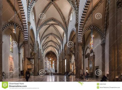 santa novella interno the interior of santa novella church florence