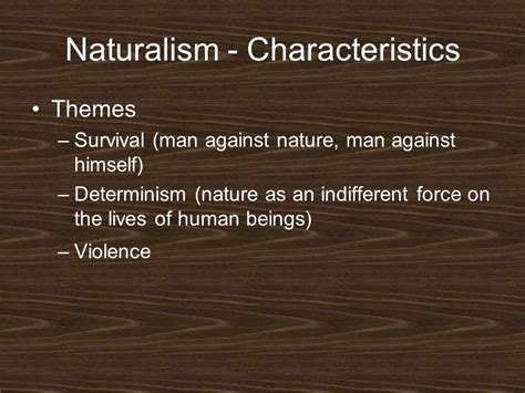 literature themes survival american literature realism and naturalism ppt video