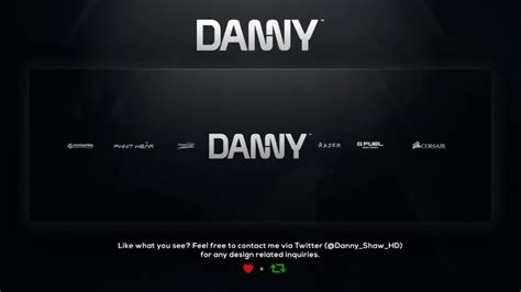 design header for twitter photoshop template free twitter header design danny boy