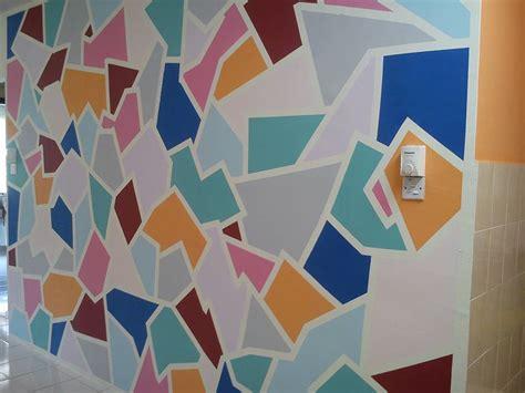 diy cat dinding kreatif  hiasan dinding ruang makan
