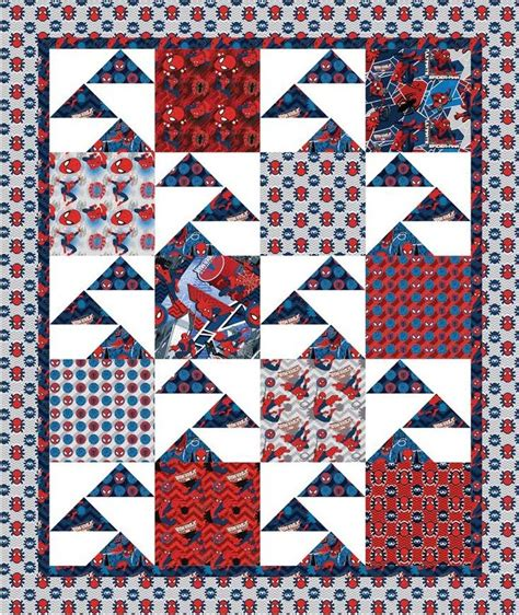 pattern for spiderman quilt free projects flying high quilt by swirly girls design