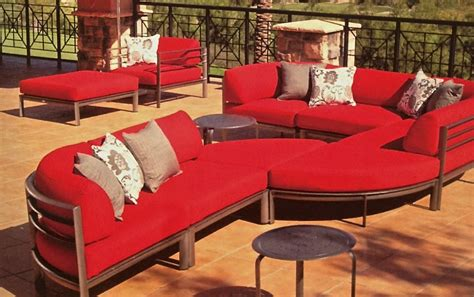 curved patio sectional southern cay curved sectional patio furniture