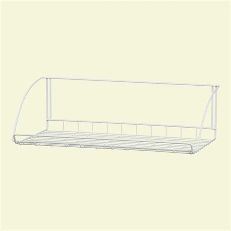 closetmaid 24 in white versatile hanging shelf 8279 the