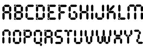 calculator font pocketcalculatorot font