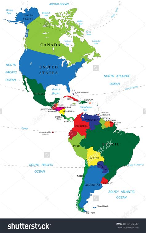 america south america map map of america and south america grahamdennis me