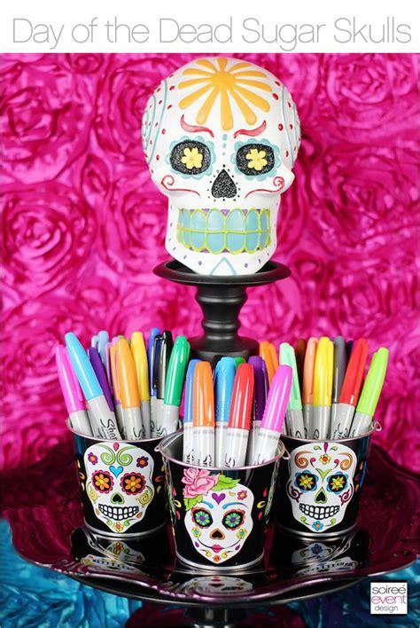 Skull Birthday Decorations by 25 Unique Sugar Skull Crafts Ideas On Skull