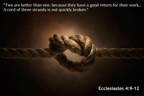 gnt uplifting scriptures ecclesiastes 4 9