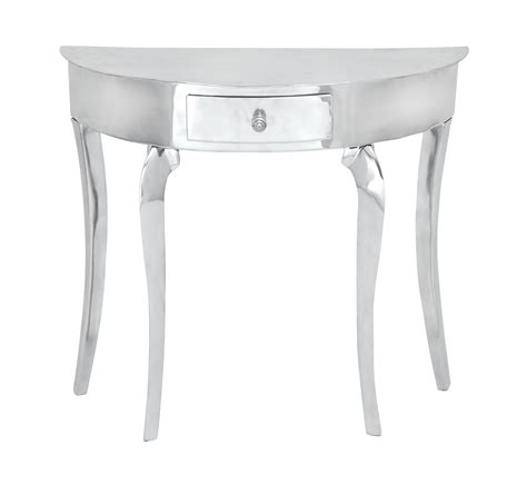 white half moon table half moon entry table homesfeed
