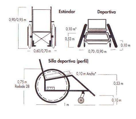 dimensiones sillas de ruedas bsr