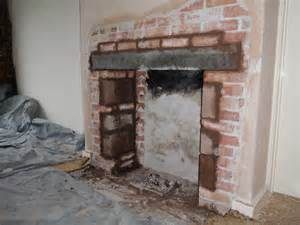 Old Kitchen Renovation Ideas the chimney opening is enlarged my fourwalls