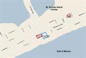 map of st george island florida st george island chili cook getting here