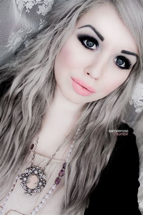pics of dark blonde silver hair 17 images about granny hair on pinterest grey trends