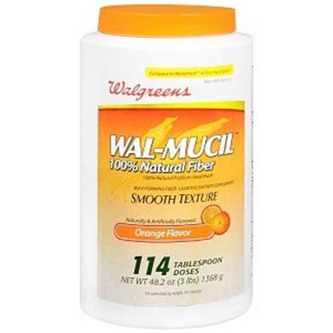 walgreens wal mucil 100 psyllium seed