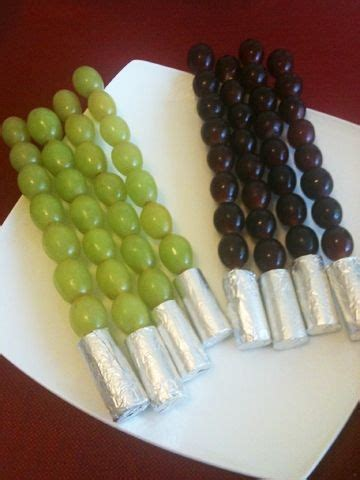 light snacks for party stick it star wars party and light saber on pinterest