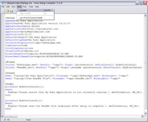website section names ruby on windows september 2007
