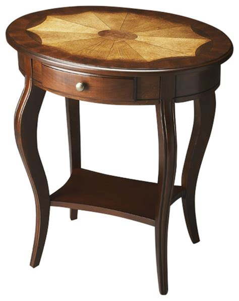 Traditional Coffee Tables And End Tables Oval Accent Table Traditional Coffee Tables By Furniture East Inc