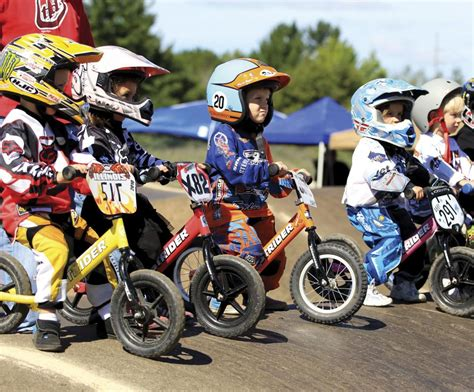 motocross balance bike strider bikes launches national bmx competition for