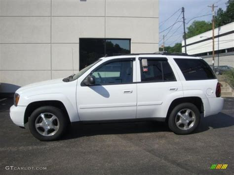 chevrolet trailblazer white 2008 summit white chevrolet trailblazer lt 4x4 33146882