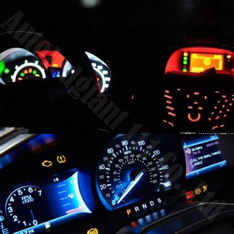 wljh car dashboard led   smd wedge light gauge bulbs     ashtray shifter lights