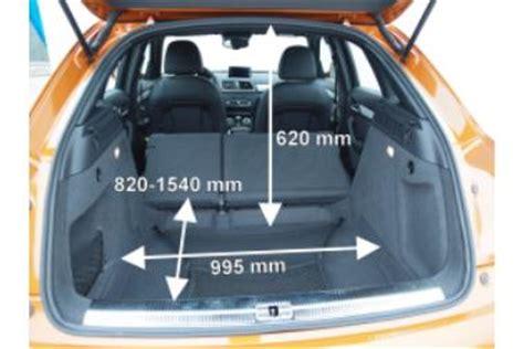 Audi Q3 Kofferraumvolumen by Adac Auto Test Audi Q3 2 0 Tdi Quattro S Tronic 7 Gang
