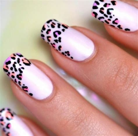 craft nail scotch tape zebra print manicure animal print nails pictures photos and images for