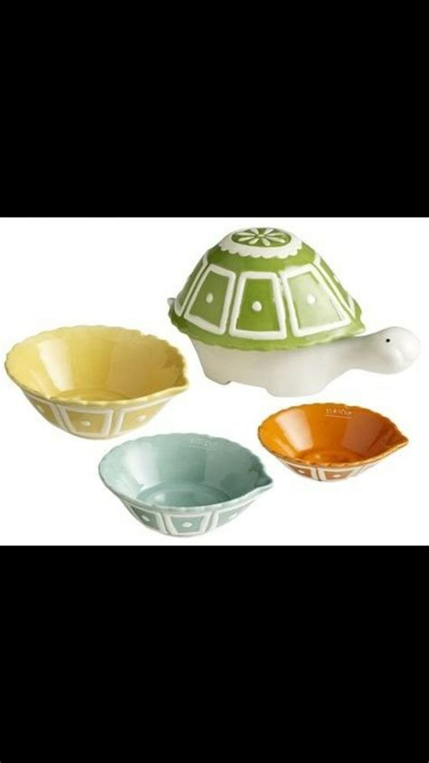 Mini Cushion Import Bangkok Accesories Jewelry 1 ceramic turtle measuring cups eclectic measuring cups