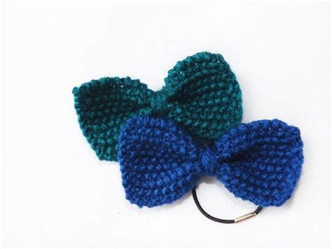 how to knit a hair bow pdf knitting pattern hair bow mini knit bow tie