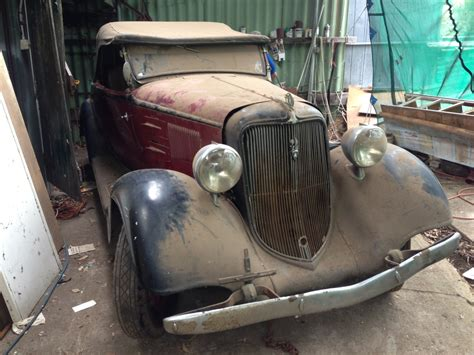 Australia Find Barn Find From Luke In South Australia Hotrod Hotline