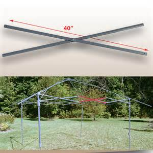 Coleman Instant Canopy Parts by Coleman 13 X13 Straight Leg Instant Canopy Gazebo Tent