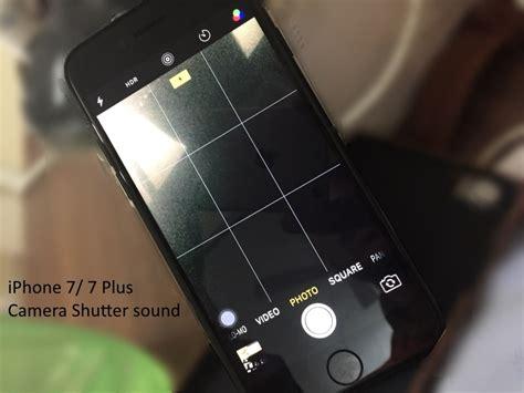 turn camera sound   iphone   guide