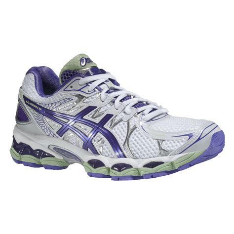 asics gel nimbus  ladies running shoes sweatbandcom