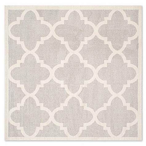 buy safavieh amherst 5 foot x 5 foot geo area rug in light