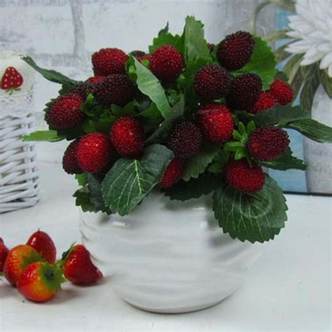 Strawberry Home Decor by Beautiful 9 Fruit Decoration Flower Artificial Fruit