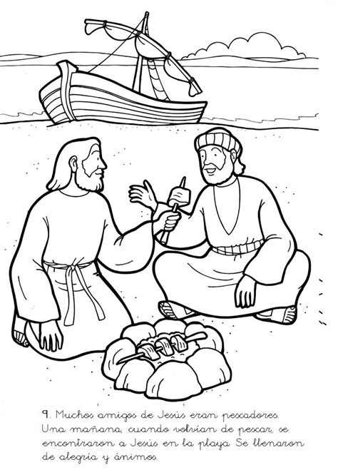 coloring pages jesus appears to his disciples 19 best images about bible jesus appears to his