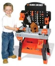 black and decker childrens tool bench black decker jr power workshop workbench review