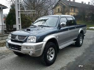 2005 Mitsubishi L200 2005 Mitsubishi L200 Up 4x4 Car Photo And Specs