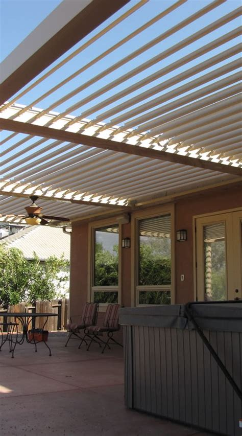 Houston, TX Patio Covers, Louvered Roof System