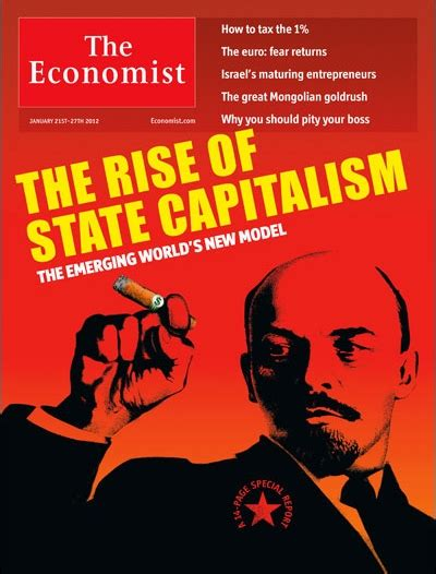 The Economist Special Report State Capitalism The Visible 21 January 2012 Free by Cover Ww The Economist