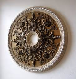 ceiling chandelier medallion how to paint a ceiling medallion destashio