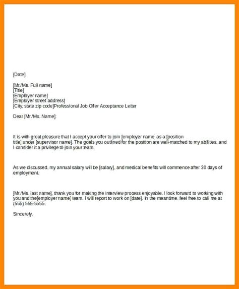 Offer Acceptance Letter With Notice Period offer acceptance letter citybirds club