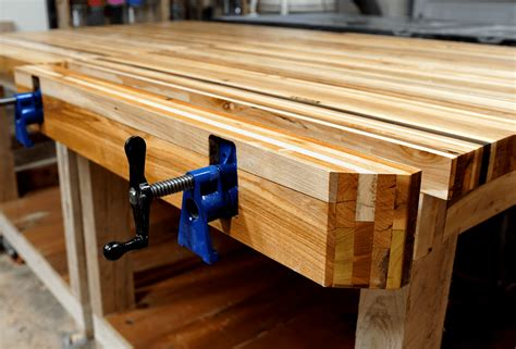 pallet wood pipe clamp workbench vise  jackman works
