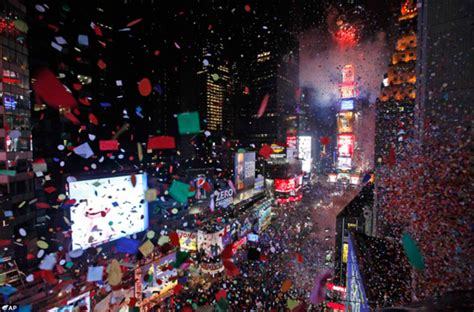 new year nyc new year s at times square in new york