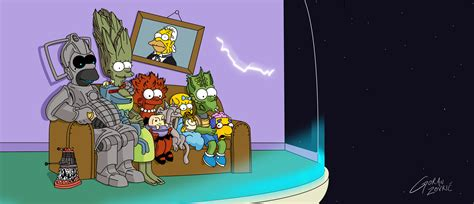 couch gag simpsons doctor who simpsons couch gag by belgoran on deviantart