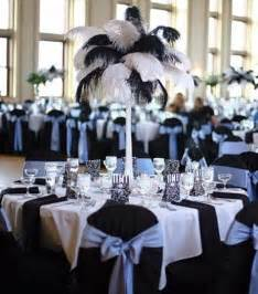 Cheap Feathers For Centerpieces by 46 Cool Black And White Wedding Centerpieces Happywedd Com