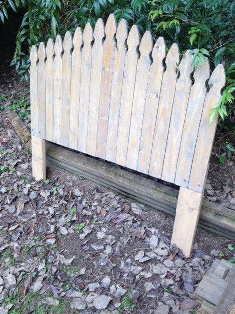 picket fence headboard plans best 25 fence headboard ideas on pinterest rustic