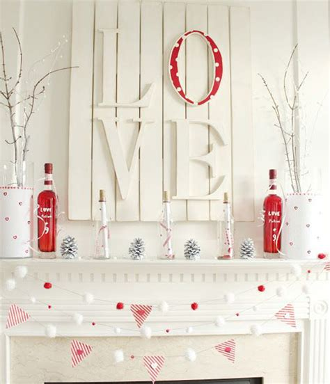 valentine decorating ideas 20 gorgeous valentine s day mantel decorations home
